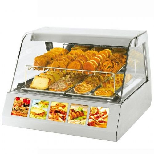 Roller Grill VVC800 Heated Merchanding Display Heated Displays